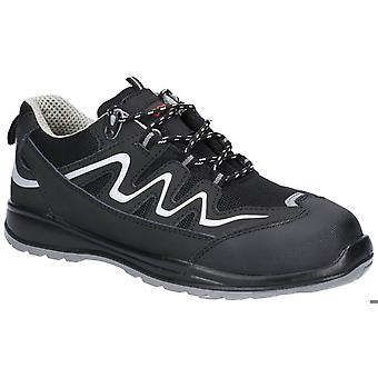 Centek fs313 leather safety trainers mens
