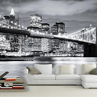 Photo Wallpaper, City Landscape Mural Wall Cloth, Living Room, Office