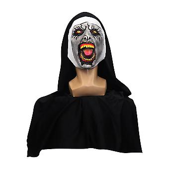 Valak Nun Mask Halloween Horror Grimace Party Mask Cosplay Props