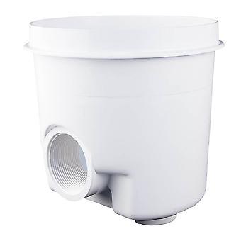 Custom Molded 25520-000-000 Gunite Main Drain - White