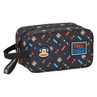 Travel Slipper Holder Paul Frank Retro Gamer Black Polyester