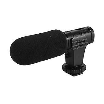 DSLR Камера Телефон Микрофон Интервью Видео Vlogging Запись Супер-кардиоид пикап