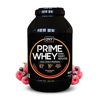 QNT Prime Whey Protein Powder 100% Whey Isolate - 2kg - Triple Berry