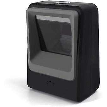FengChun 1D 2D QR Desktop Barcode Scanner, omnidirektionaler freihändiger USB Barcode Leser, erfasst