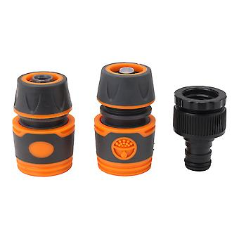 Garden Hose Fittings Hose Quick & Waterstop Connector 2in1 Tap Adapter