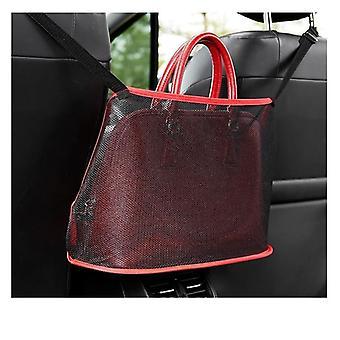 Автомобиль Чистая карманная сумочка держатель Организатор Seat Side хранения