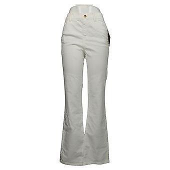 IMAN Global Chic Women's Jeans Bootcut White 734928100