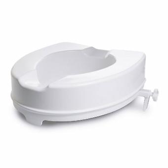 McKesson sollevato sedile wc McKesson 4 pollici altezza bianco 400 libbre capacità di peso, 1 ciascuno