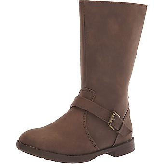 The Children's Place Girls' Tall Fashion Boot DK Brown TDDLR 5 Child US Toddler
