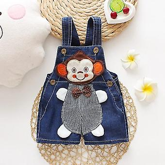 Baby Kleding Jeans -overalls Shorts Peuter Baby Denim Rompers