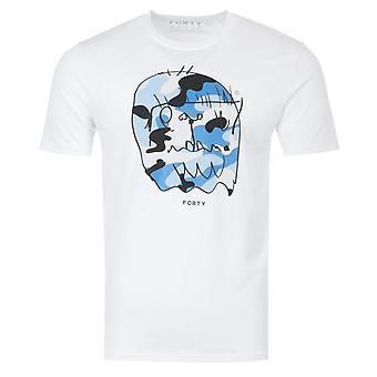 Forty Benjamin Organic Cotton T-Shirt - White