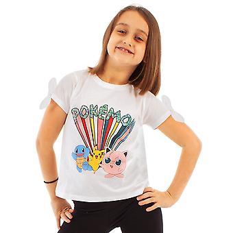 Pokemon Girls Karaktärer T-Shirt