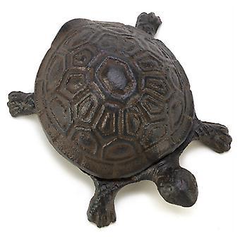 Summerfield Terrace Cast Iron Turtle Key Hider, Pack of 1