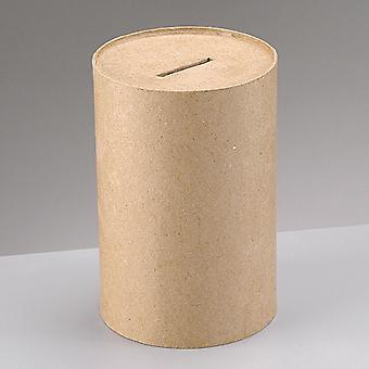 15cm pengeindsamling papir mache boks til at dekorere 15x10cm | Papier mache kasser