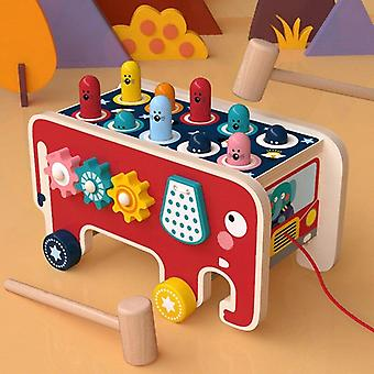 Early Childhood Toys Multifunctional Combination Game Children's Intelligence Gopher Game Toy|