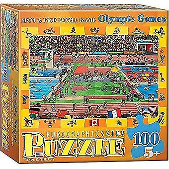 Jigsaw puzzles spot and find olympics mo puzzle 100 pieces