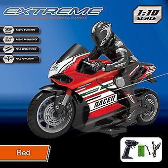 الدراجات النارية التحكم عن بعد سباق والانجراف دراجة نارية omidirection التحكم في محاكاة الأطفال الكهربائية RC اللعب الحمراء
