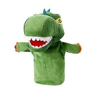 לנבנה דינוזאור יד בובה בובה בובה קטיפה קטיפה עבור סיפורי גן ילדים, להעמיד פנים לשחק