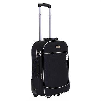 Slimbridge Rennes cabine 55 cm extensible valise, noir