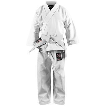 Hayabusa Musha ungdom Karate Gi - hvit - kimono taekwondo barn