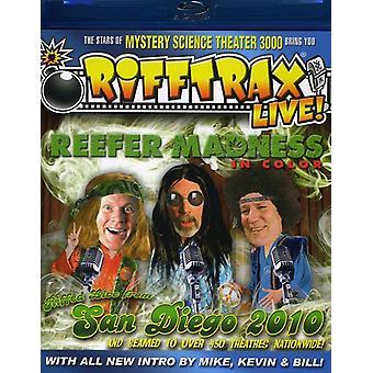 Rifftrax Live!: Reefer Madness [BLU-RAY] USA import