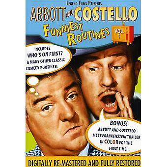 Abbott & Costello - Abbott and Costello: Funniest Routines, Vol. 1 [DVD] USA import
