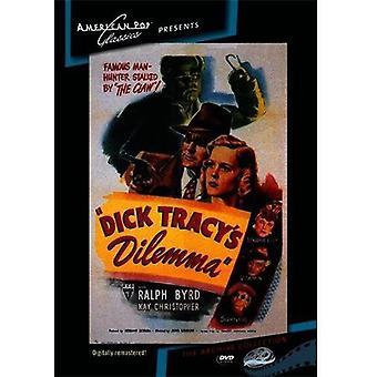 Importer des USA de Dick Tracy dilemme [DVD]
