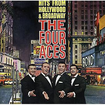 Four Aces - Hits From Hollywood & Broadw [CD] USA import