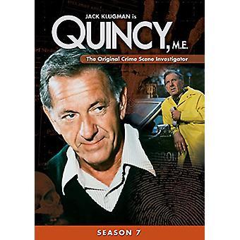 Quincy mich: Season 7 [DVD] USA Import