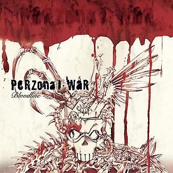 Perzonal War - importação EUA linhagem [CD]