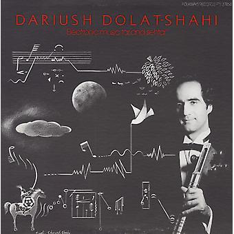 Dariush Dolat-Shahi - elektronisk musik tjära & Sehtar [CD] USA import