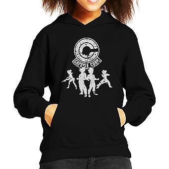 Power Capsule Corp Dragon Ball Z Kid's Hooded Sweatshirt