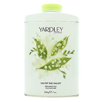 Yardley Lily af dalen parfumeret talkum 200g