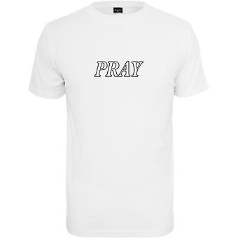 Mister tee shirt - PRAY HANDS white