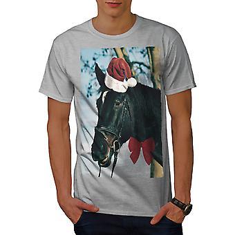 Holiday Art Men GreyT-shirt | Wellcoda