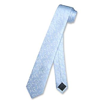 Covona Narrow NeckTie Skinny DESIGN Men's Thin 2.5