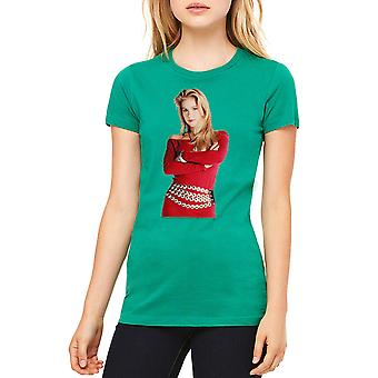 Married With Children Kelly Red Dress Women's Kelly Green T-shirt