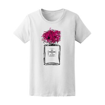 Number 1 Perfume With Flowers Tee Women's -Image by Shutterstock