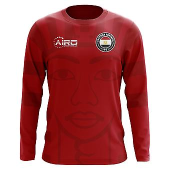 2020-2021 Egypt Long Sleeve Home Concept Football Shirt