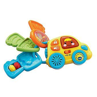 VTech Baby min første bil nøgle rangle (flerfarvet)
