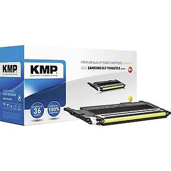 KMP Toner cartridge replaced Samsung CLT-Y406S Compatible Yellow 1000 Sides SA-T56