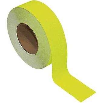 B-SAFETY AR201050 Universal anti-slip coating Amarelo (fluorescente) (L x W) 18,3 m x 50 mm