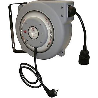 Holzmann Maschinen H050500023 Cable reel 15.00 m Black PG plug