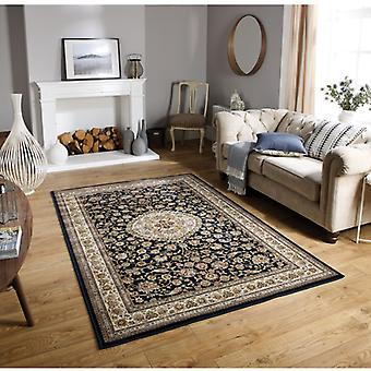 Tabriz 33B Navy Cream  Rectangle Rugs Traditional Rugs