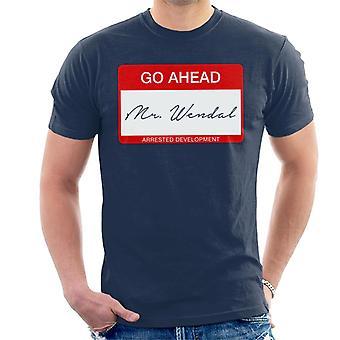 Hr. Wendal sang Lyric anholdt udvikling mænd T-Shirt