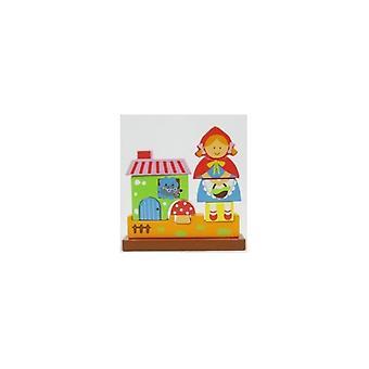 Bare for barn 35617 magnetisk Rødhette Puzzle