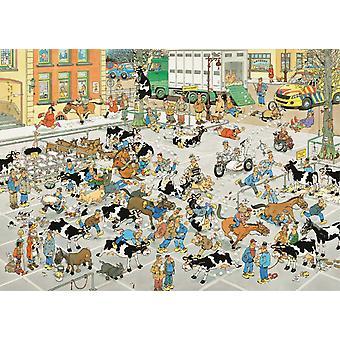 Jan Van Haasteren The Cattle Market Jigsaw Puzzle (1000 Pieces)