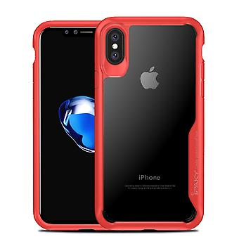 IPAKY iPhone X/ XS TPU Hybrid Shell - Red