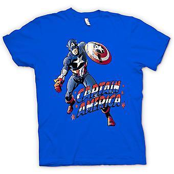 Kids T-shirt - Captain America - Comic Hero