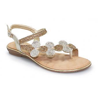 Laluna Karolina Floral Gemss Sandal CLEARANCE